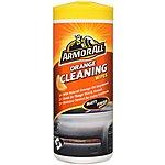 image of Armor All Orange Cleaning Wipes - Matt Finish x 30