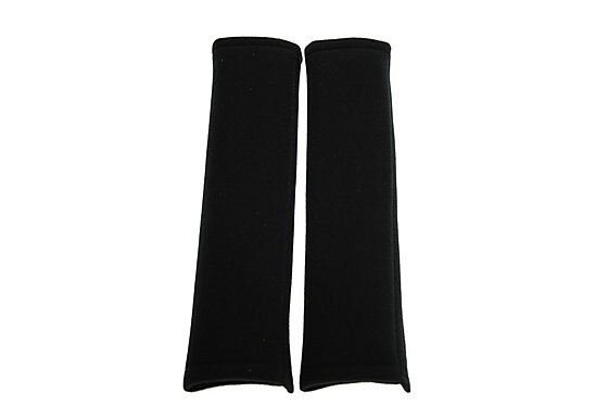 Halfords Seat Belt Pads - Black
