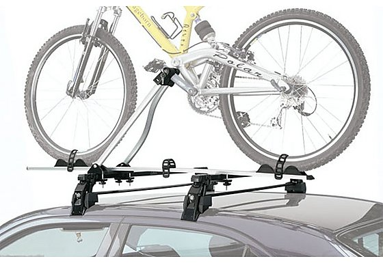 Avenir Utah Crank Clamping Car Roof Rack - 1 Bike