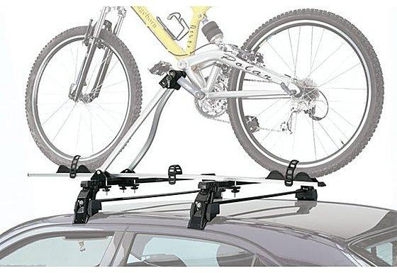 Avenir Utah Crank Clamping Car Roof Rack - 1 Bike