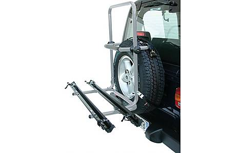 image of Avenir 4x4 Idaho 2-Bike Spare Tyre Fitting Rack