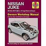 image of Haynes Nissan Juke Petrol and Diesel (10-17) Manual