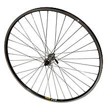 image of Raleigh Pro Build 700c Front Wheel, Shimano Deore Hub, Mavic A119 Silver Rim