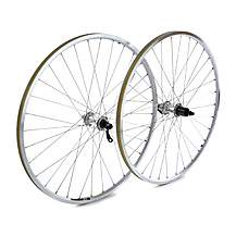 image of Raleigh Pro Build 700c Rear Wheel, Shimano Deore Hub, Mavic A119 Silver Rim, 36H