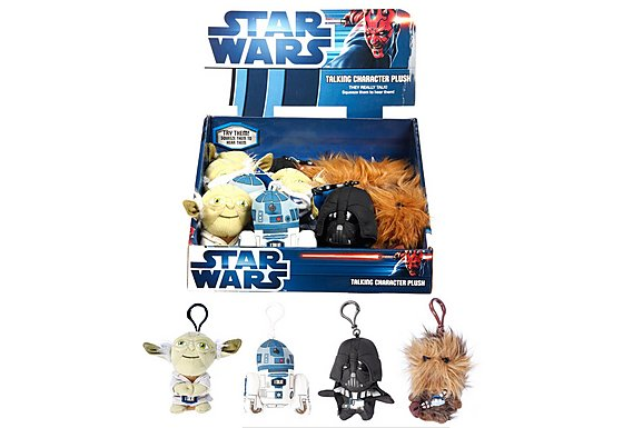 Star Wars Talking Mini Plush Keyring