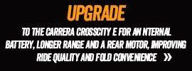 Upgrade to the Carrera Crosscity-E