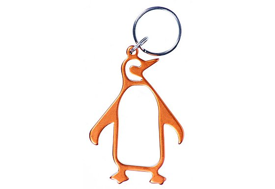 Munkees Penguin Bottle Opener Keyring