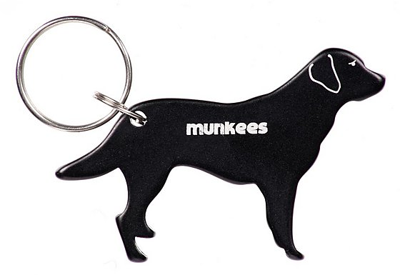 Munkees Labrador Bottle Opener Keyring