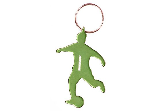 Munkees Footballer Bottle Opener Keyring