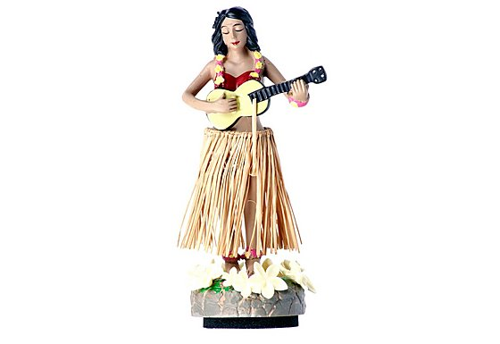 Bahama Hula Girl Car Air Freshener Pina Colada