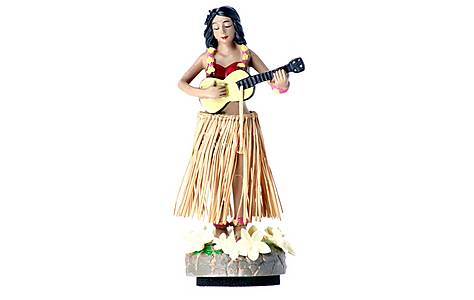 image of Bahama Hula Girl Car Air Freshener Pina Colada