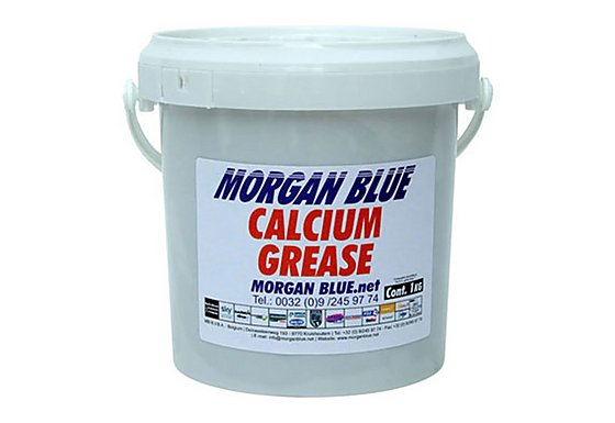 Morgan Blue Calcium Grease - 1000cc