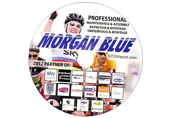 Morgan Blue Bike Maintenance CD