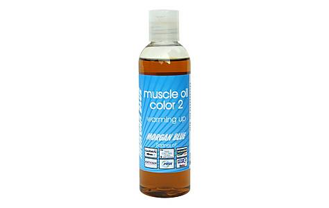 image of Morgan Blue Warming Muscle Oil Colour 2