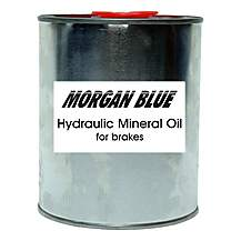 image of Morgan Blue Hydraulic Mineral Oil for Brakes, 1000cc
