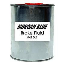 image of Morgan Blue Brake Fluid Dot 5.1, 1000cc
