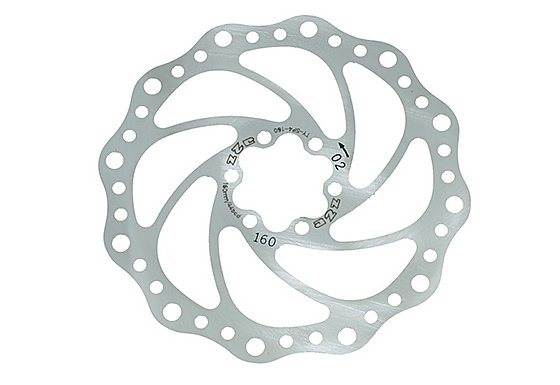 A2Z Teppan Yaki SP4 Disc Brake Rotor - 160mm
