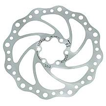 image of A2Z Teppan Yaki SP4 Disc Brake Rotor - 203mm