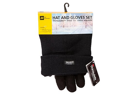 AA Thinsulate Hat and Gloves Set