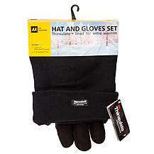 image of AA Thinsulate Hat and Gloves Set