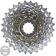 image of Shimano CS-HG80 9 Speed Cassette 11-28T