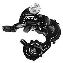 image of SRAM Rival Road Rear Mech Derailleur - Black (Short Cage)
