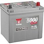 image of Yuasa 12V Silver Car Battery HSB005 - 5 Year Guarantee