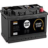 Halfords 4 Year Guarantee 096AGM Start/Stop AGM 12V Car Battery