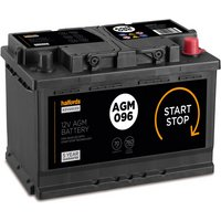 Halfords Start/Stop AGM Battery 096AGM - 4 Yr Guarantee