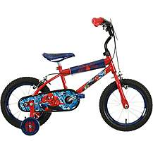 image of Ultimate Spiderman Boys' Bike - 14""