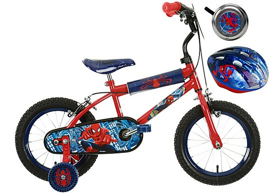 Spiderman Bike Bundle