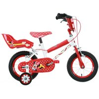 Minnie Mouse Girls Bike 12""