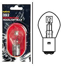 image of Halfords Bike it Motorcycle Bulb HMB392 6v 25/25w