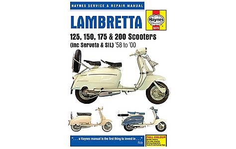 image of Haynes Lambretta 125, 150, 175 & 200 Scooters Repair Manual