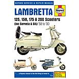 Haynes Lambretta 125, 150, 175 & 200 Scooters Repair Manual