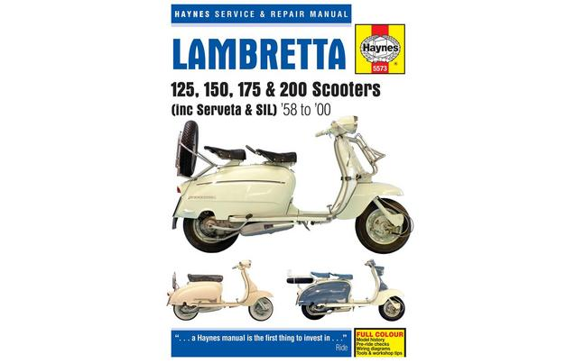 Haynes Lambretta 125 150 175 Amp 200 Scooters Repair Manual