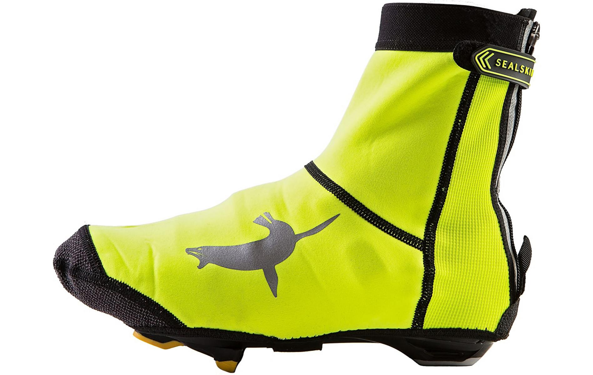 Sealskinz Neo Open Overshoes, Yellow, L