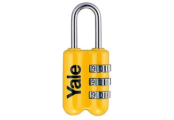 Yale Travel Luggage 23mm Combination Padlock