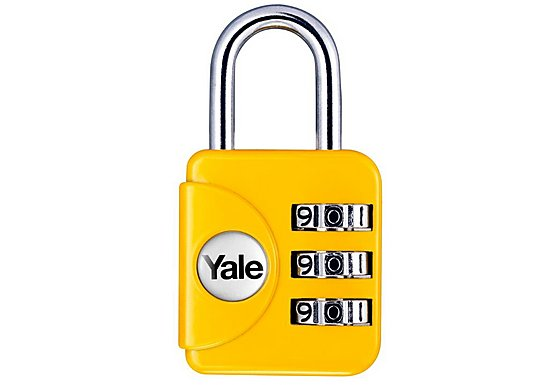 Yale Luggage 28mm Combination Padlock