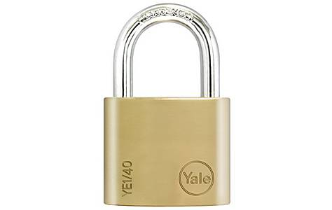image of Yale Essential 40mm Brass Padlock