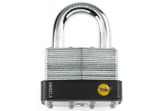 Yale 50mm Laminated Steel Padlock