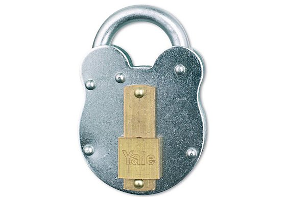 Yale 53mm Traditional Steel Padlock