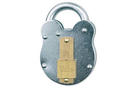 image of Yale 53mm Traditional Steel Padlock