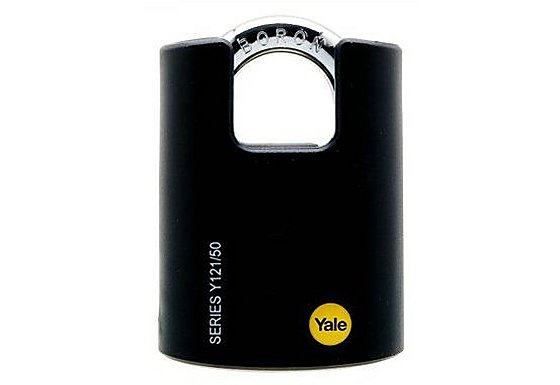 Yale 40mm Open and Closed Shackle Padlock Twin Pack