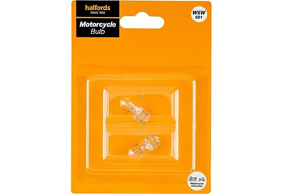 Halfords Bike it Motorcycle Bulb HMB501 12v 5w