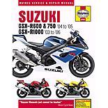 Haynes Suzuki GSX-R600/750 (04-05) & GSX-R1000 (03-06)