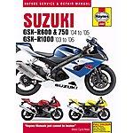 image of Haynes Suzuki GSX-R600/750 (04-05) & GSX-R1000 (03-06)