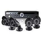 image of Securix SME4 R30 CCTV Kit with 4 Channel 500GB DVR and 4x 600TVL Cameras