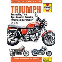 image of Haynes Triumph Bonneville (01-12)