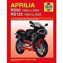 image of Haynes Aprilia RS50 (99 - 05) & RS125 (93 - 05)